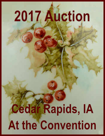 2017 Auction - During the Cedar Rapids, Iowa Convention April 20-22, 2017