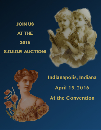 2016 Auction - During the Indianapolis Convention April 14-16, 2016